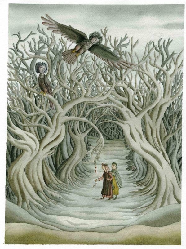 Una delle illustrazioni di Antonio Vincenti.