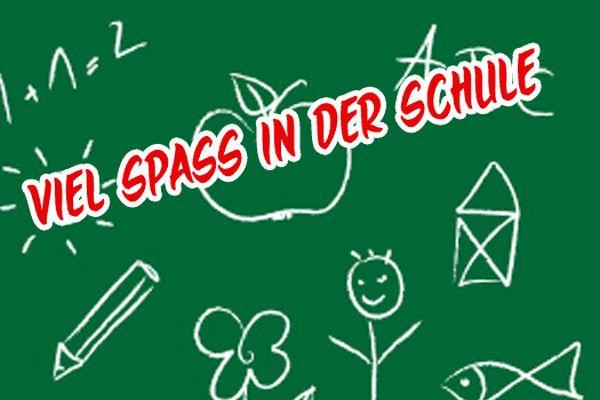 """""""Buon divertimento a scuola"""", promette l'Einschulung."""