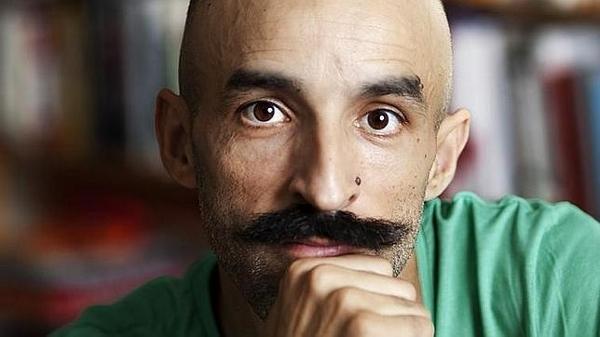 """Lo scrittore spagnolo autore di """"Intemperie""""."""