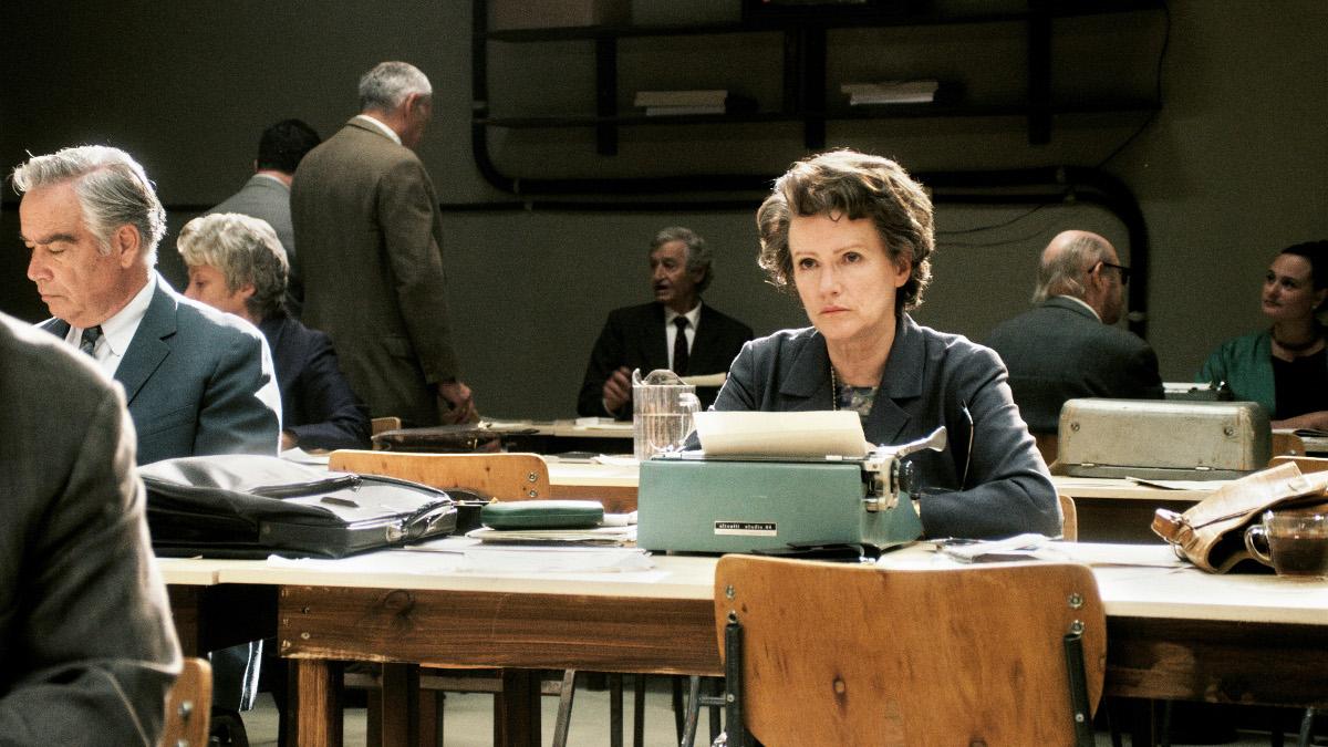 Barbara Sukowa interpreta Hannah Arendt nel film di Margaret Von Trotta.